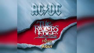 The Razors Edge Español Inglés AC DC