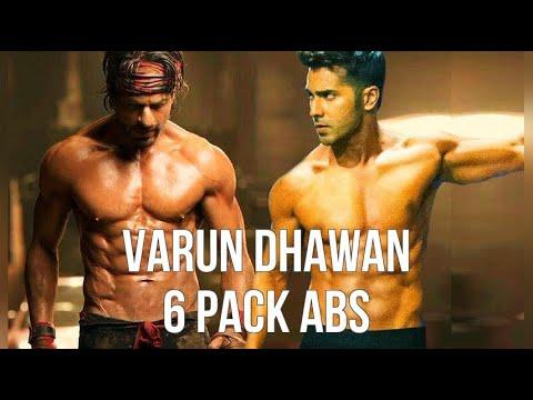 Varun Dhawan 6 Pack Abs Youtube