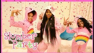 FUN SLEEPOVER SLUMBER PARTY FOR YAYA