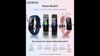 Huawei Honor Band 5 Розпакування дуже цікавого трекера