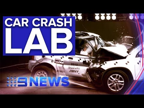 Inside The Lab Testing How Safe Our Used Cars Are | Nine News Australia