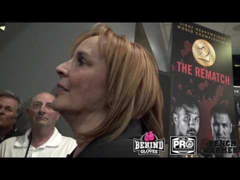 KATHY DUVA ABSOLUTELY PISSED THAT THE REFEREE STOPPED THE FIGHT! #WARDKOVALEV
