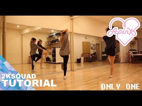 [TUTORIAL] Apink (에이핑크) - Only One (내가 설렐 수 있게) | Dance Tutorial by 2KSQUAD