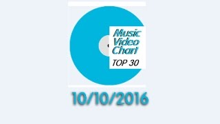 ClipNews Music Video Chart | Top 30 | 10, October, 2016