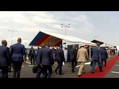 Inauguration de l'Aéroport de Port-Gentil Par S.E ALI BONGO ONDIMBA