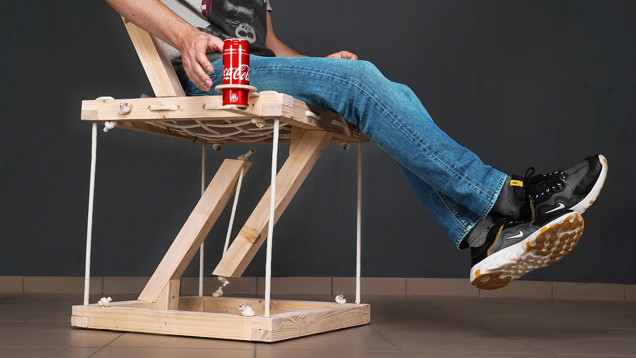 Insane Floating Tensegrity Chair