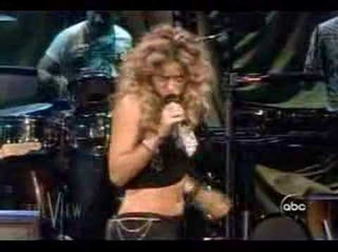 Shakira-la tortura on the view