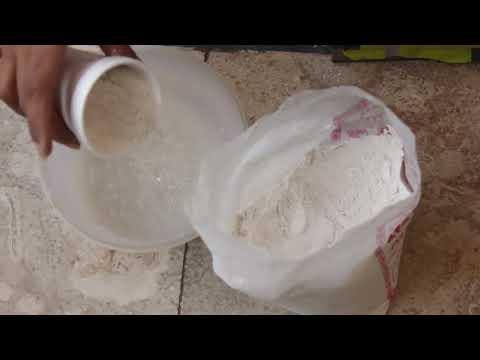How To Mix Plaster Of Paris