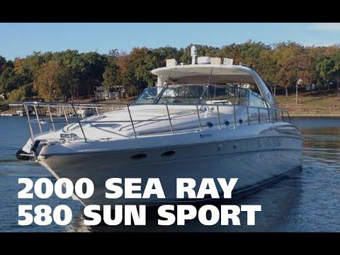 2000 Sea Ray 580 Super Sun Sport Virtual Tour For Sale at MarineMax Grand Lake