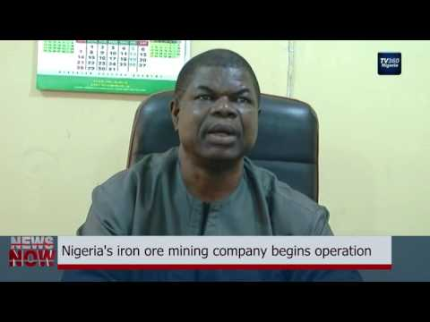 Nigeria's iron ore mining company begins operation