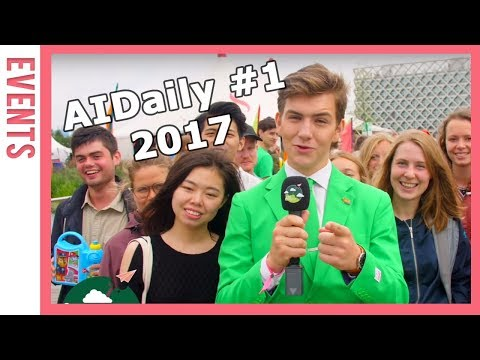 AIDaily 2017 Day 1 | WUR