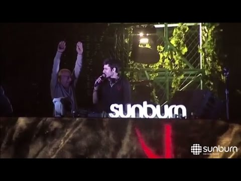 KSHMR brings his Dadaji ( Grandpa ) on stage | Sunburn Pune 2016 |