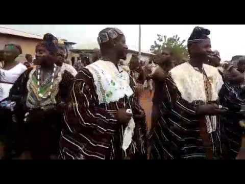Gonjas cultural dance from Ghana