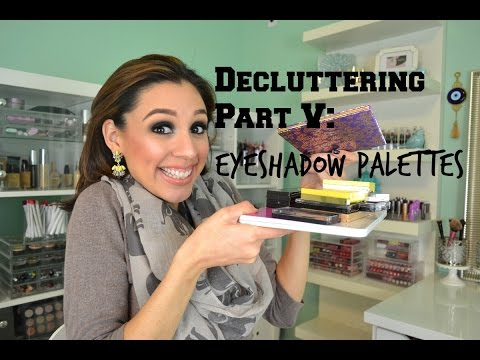Decluttering Part V: Eyeshadow Palettes