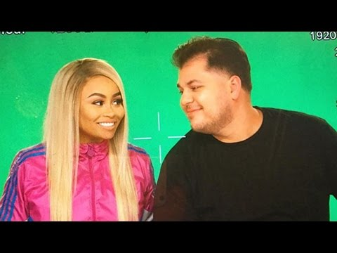Rob Kardashian & Blac Chyna Tease FIRST Pic From Reality Show - New Show Details