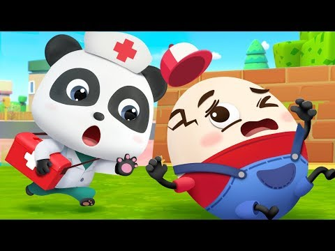doctor-is-here-to-help- -police-cartoon,-doctor-caroon- -nursery-rhymes- -kids-songs- -babybus