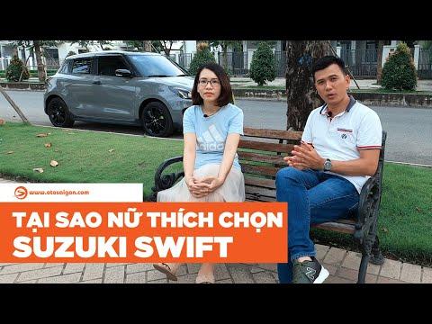 Suzuki Swift có phải chiếc xe dành cho phái nữ? | Otosaigon