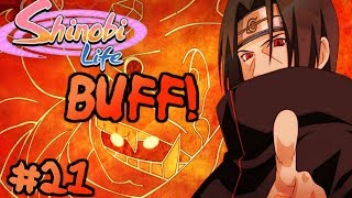 ROBLOX Shinobi Life OA - Life As An Rker #21 - ITACHI MANGEKYOU BUFF