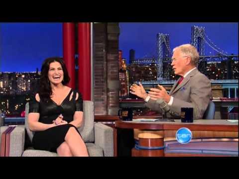 Idina Menzel on Letterman May 9 2014