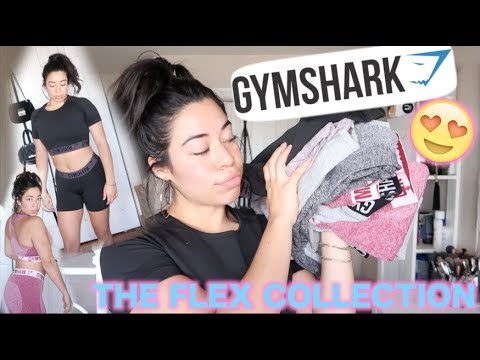 3f0cd3aa7c32b NEW GYMSHARK FLEX COLLECTION |TRY-ON & REVIEW - YouTube