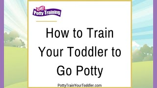 How to Train Your Toddler to Go Potty