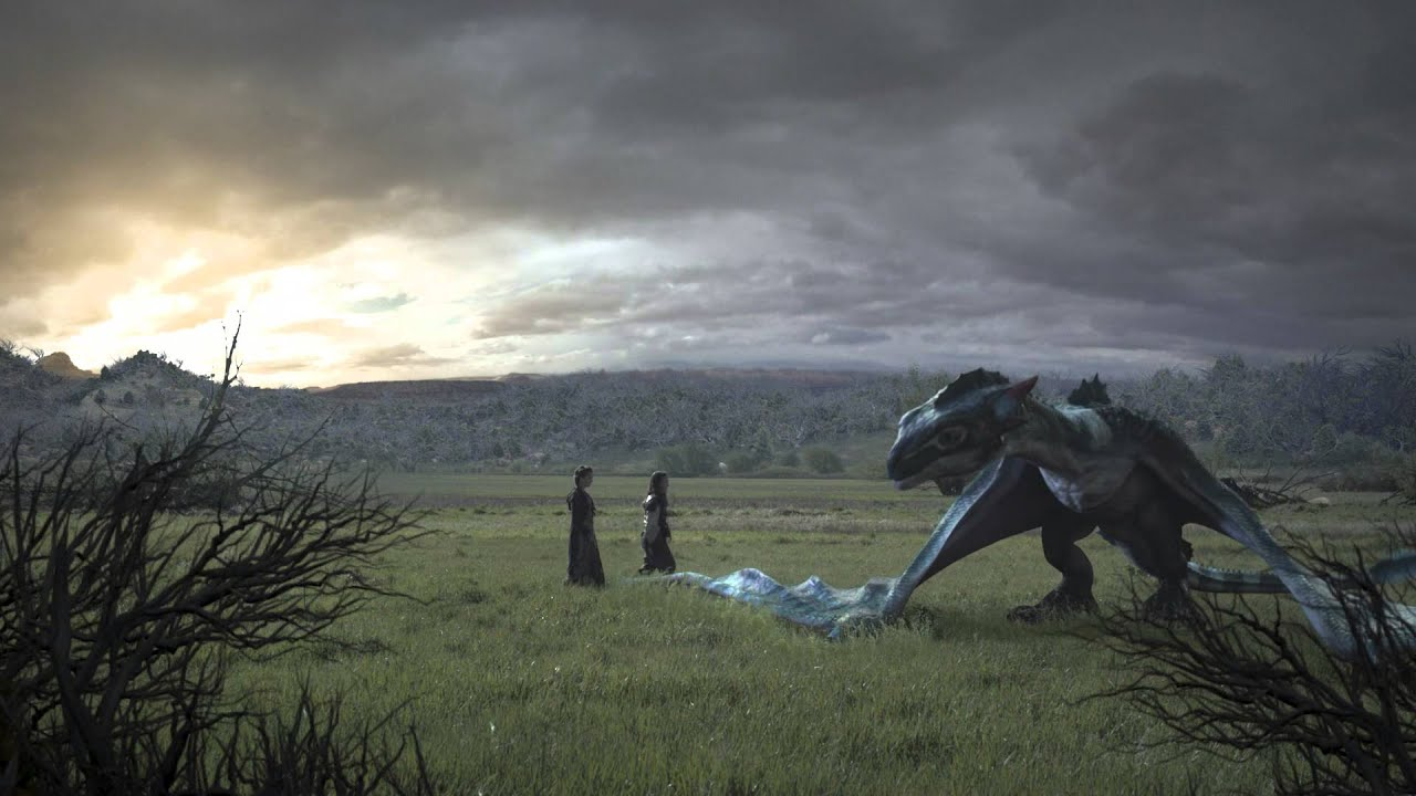 Christmas Dragon VFX preview - YouTube