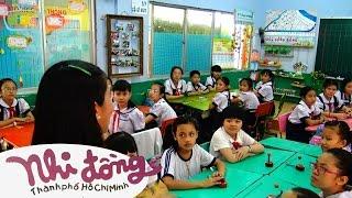 Bài hát lớp 5: Reo vang bình minh - Trường TH Đoàn Thị Điểm, Q.4