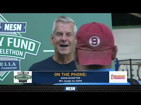 Adam Schefter On Antonio Brown's Helmet, Tom Brady's Future, Jimmy Fund