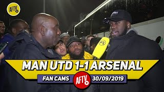 Man United 1-1 Arsenal | The Linesman Almost Robbed Aubameyang! (Da Mobb)