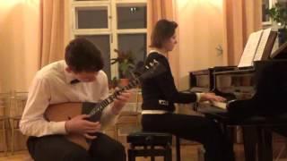 И. С. Бах Концерт для скрипки ля минор (1 часть)