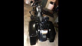 Tjmoto Aftermarket Hard Abs Saddlebags For 1994- 2013 Harley