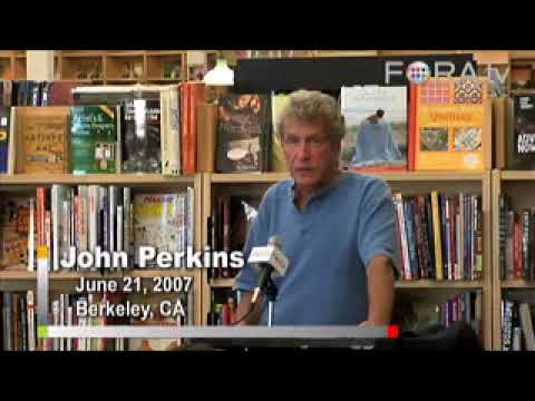 Confessions of an economic Hitman . John Perkins about the US govt policies,