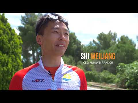 Huawei At  Renewable Energy World Race In France