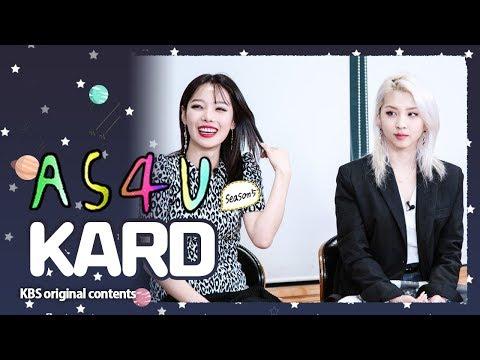 ENG SUB/ 어송포유 S5E8 카드 편 A Song For You 5 │ ep8-KARD