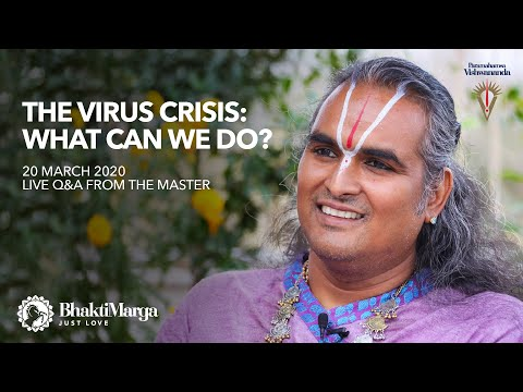 The Virus Crisis: What Can We Do?  | Live Q&A From The Master