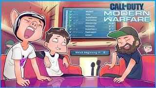 Modern Warfare but the pregame lobby is funnier than the gameplay...