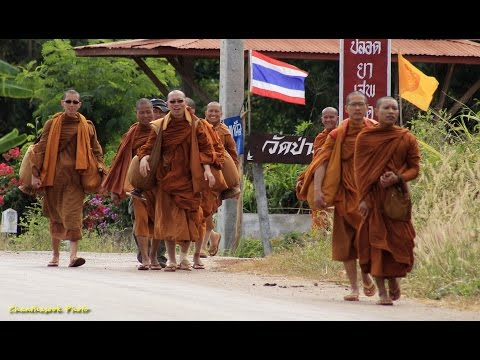 Life In My Thailand, Travelling Monks from Jungle Temples