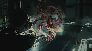 resident evil 6 leon boss