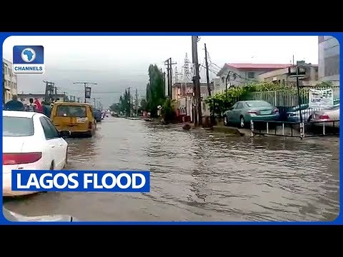 Flood Hits Parts Of Lagos After Heavy Rains