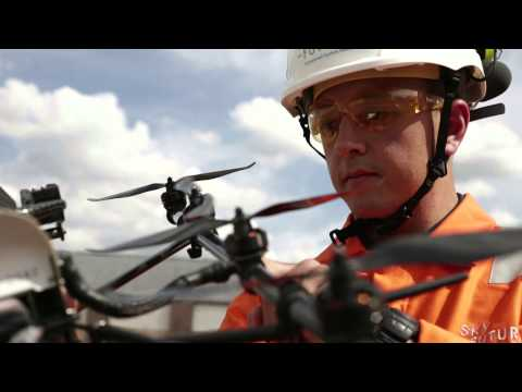 Overview of Sky-Futures Oil and Gas UAV inspection service