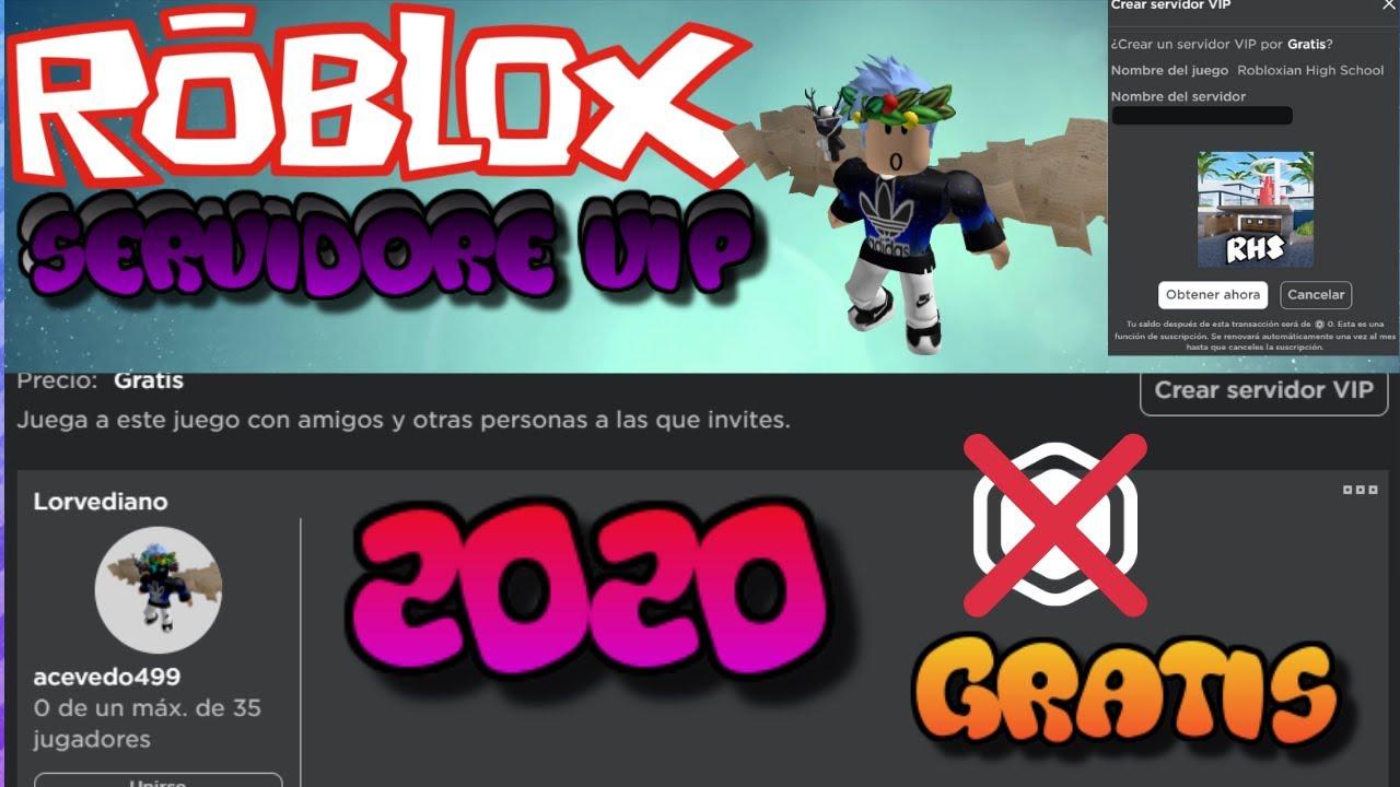 Servidores Gratis De Roblox Roblox Consigue Servidores Vip Sin Robux 2020 Sin Trucos Y Como Configurarlo Server Privados Youtube