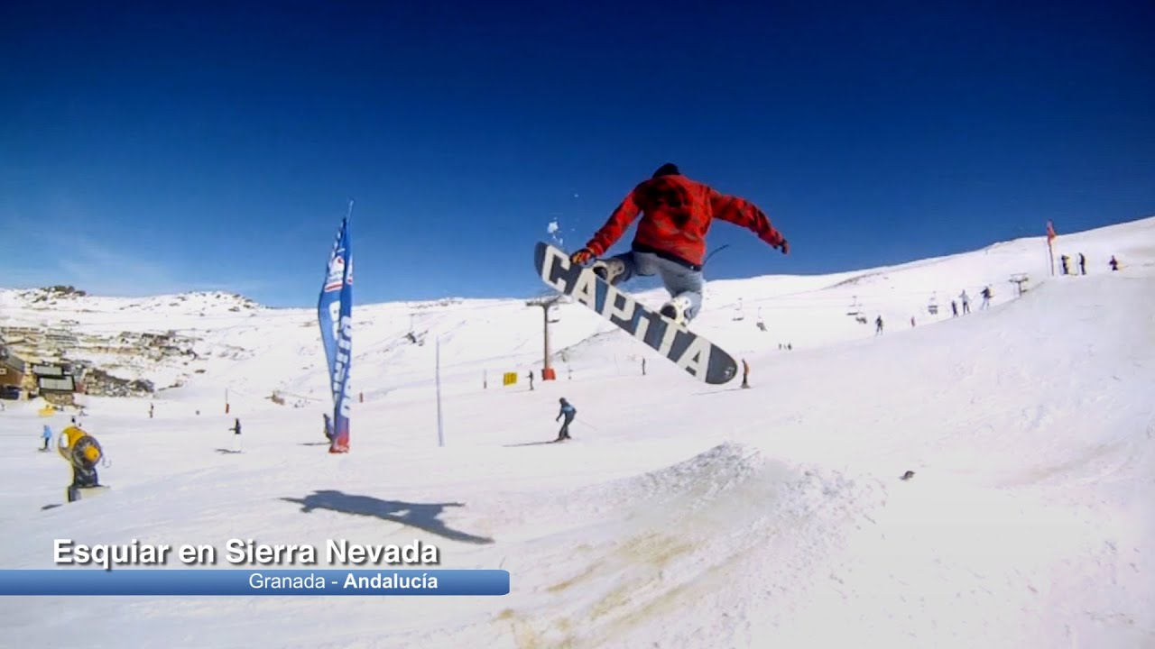 Esquiar en sierra nevada granada youtube - Apartamentos baratos en sierra nevada ...
