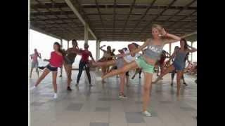 Crimea Salsa Forum 2015. Reggaeton. Ksenia Motion-86 Chkalova