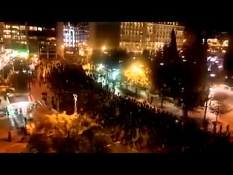 Athens 10000 people in solidarity protest to anarchist Nikos Romanos 2122014