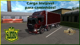 Como usar carga invisível no  ETS2! Tutorial+Downloads