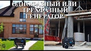 видео Трехфазные генераторы