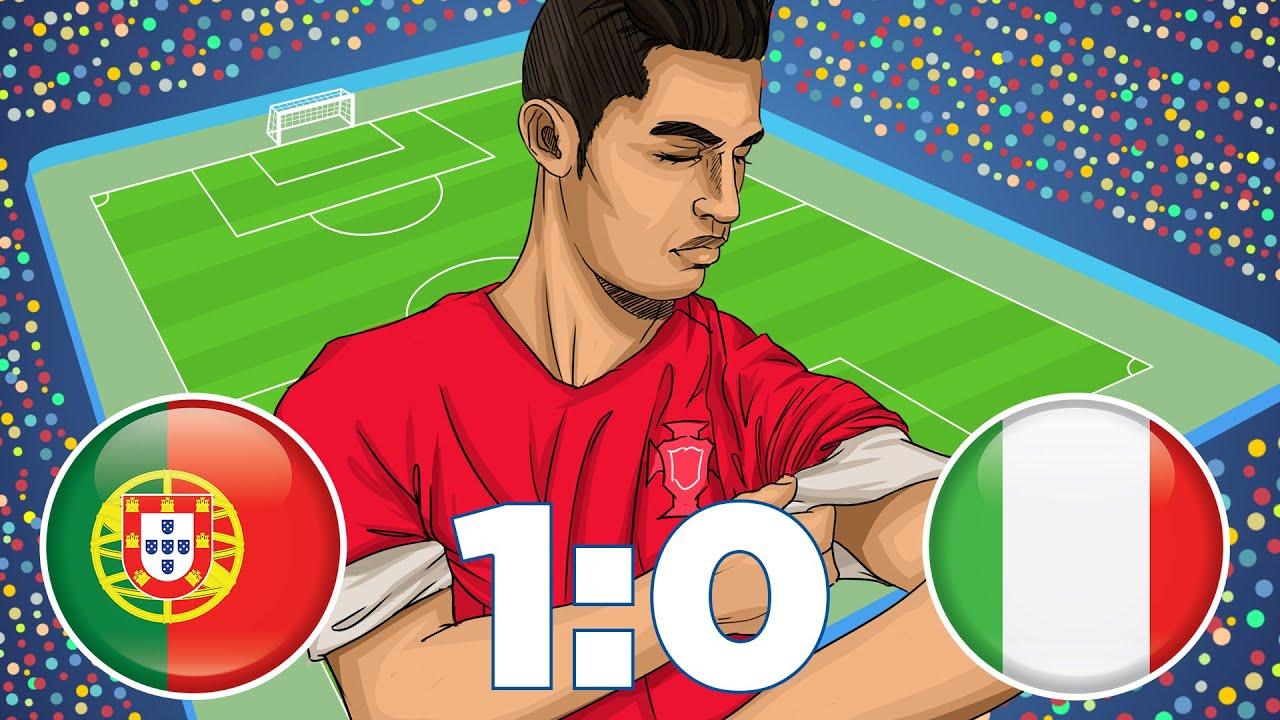 Italien Vs Portugal