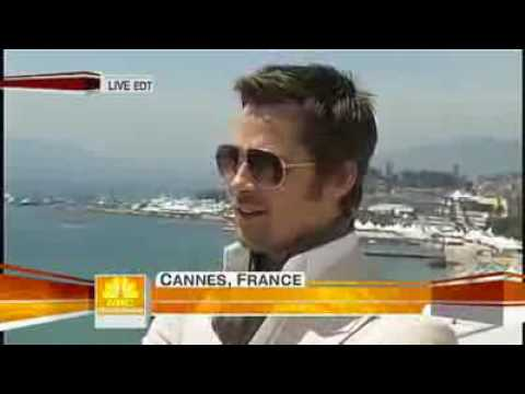 Brad Pitt Interview with Ann Curry at Cannes