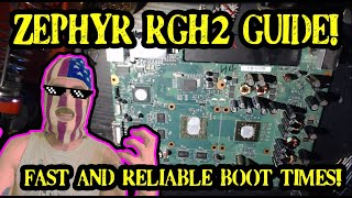 Zephyr Guide! - How to Rgh / Jtag any Zephyr 360 With Fast / Consistent Boot Times!