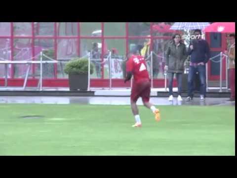 Pelea entre Boateng y Lewandowski en el entrenamiento del Bayern de Múnich